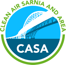 Clean Air Sarnia and Area logo