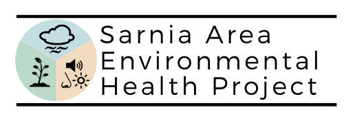 The Sarnia Area Environmental Health Project (SAEHP) logo