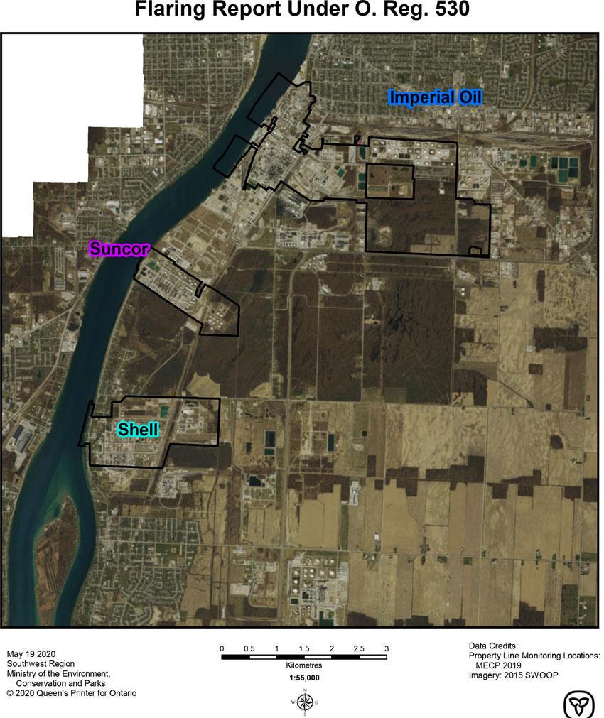 Sarnia O.Reg.530/18 Map